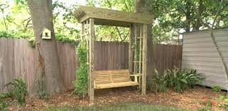 arbor swing plans free backyard swing plans various swing bed plans porch swing plans free