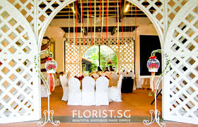 wedding decoration wedding decor packages singapore