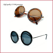 designer sonnenbrillen neuen 2014 großen runden beschichtung sonnenbrille frauen marke