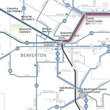 Maps Portland by Submission U2013 New Official Map Trimet System Map Transit Maps