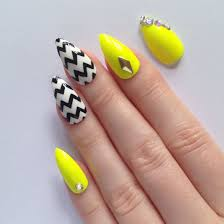 nail art designs yellow and green yellow nail art designs nenuno