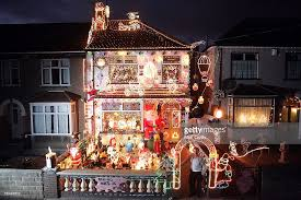 christmas light displays brighten up britain photos and images