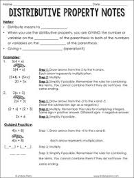 distributive property coloring page by lindsay perro tpt