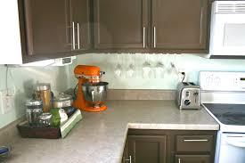 Backsplash For The Kitchen Pinspiration Monday Faux Tile Backsplash Dream Green Diy