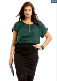 look bureau femme voilà une jupe crayon grande taille parfaite pour le bureau 20