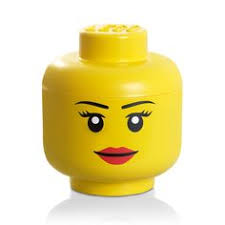 Lego Storage Containers Amazon - lego storage head large boy yellow lego http www amazon com dp