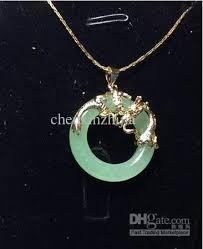 dragon jade necklace pendant images Wholesale pure jade silver dragon phoenix pendant necklace small jpg
