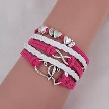leather bracelet girl images Fashion jewelry vintage anchors rudder metal leather bracelet jpg