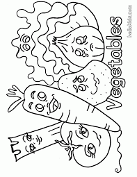 veggies coloring page coloring home