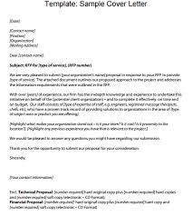 rfp proposal cover letter david berkowitz letters excel sample