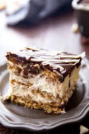 eclair eclair cake ice box cake eclair ice box cake icebox
