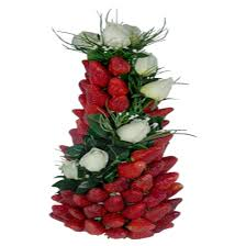 fruit arrangements for strawberry tower edible fruit arrangements 0 00
