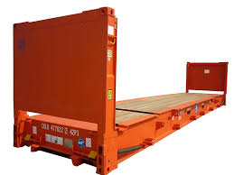 pm u0026i 40 foot flat rack new shipping containers for sale