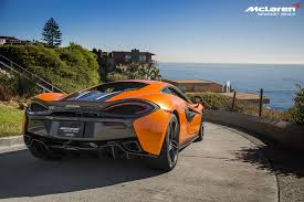 orange mclaren rear orange mclaren 570s in newport beach rear side view sssupersports