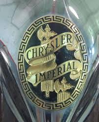 chrysler imperial badge chrysler ornaments