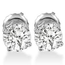 stud diamond earrings stud diamond earrings for less overstock