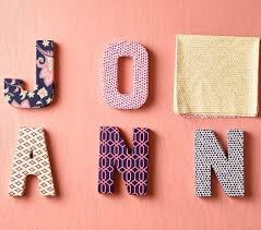 fabric covered letters 28 images fabric covered letter