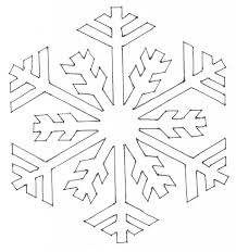 drawing of snowflake drawing art library