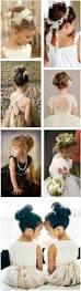 Fancy Hairstyles For Little Girls by Best 20 Kids Wedding Hairstyles Ideas On Pinterest Flower