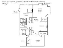 colonial floor plan senior living floor plans colonial oaks retirement community