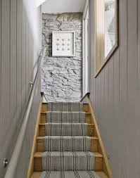 Narrow Stairs Design Décor For Our Hallway Wall Wood Panel Walls Panel Walls And