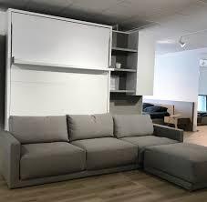 lit escamotable avec canapé ensemble de lit escamotable avec canapé d angle expo jazz 6990 au