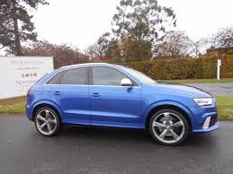 blue station wagon audi rs q3 tfsi station wagon s tronic quattro 5dr for sale