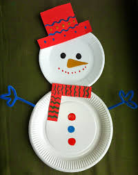 paper plate for christmas craft art craft projects