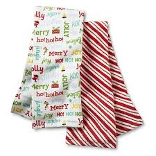 christmas towels trim a home 2 pack christmas kitchen towels candy home