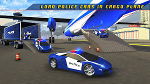 police plane transporter game android apps on google play