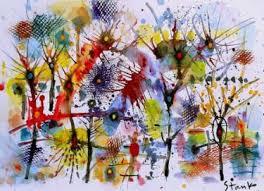 cubism flower painting buy original watercolor cubism landscape paintings