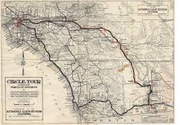 Keystone Map Historic U S Highway 80 Through Arizona On Vintage Postcards Us