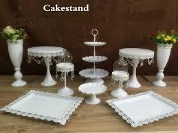 aliexpress com buy new arrival 10pcs white crystal wedding cake