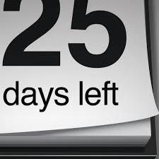 50 day countdown calendar calendar template 2016 pc 4 download