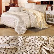 Best Quality Duvets Bedding Luxury Tencel Silk Satin Imitation Silk 34 Pcs Bedding Set