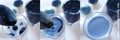 homemade natural blue food coloring with red cabbage sew