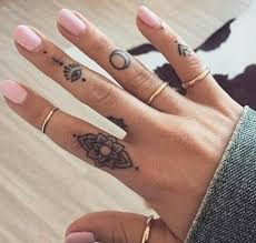 60 secret finger tattoos that nobody will see tattoozza