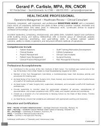 Entry Level Nursing Resume Resume Examples For Registered Nurse Chronological Resume Sample