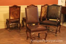 Dining Chairs Sets Side And Arm Chairs Hair Hide And Leather Upholstered Dining Room Chairs Furniture