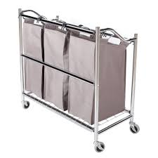 Ideas For Laundry Carts On Wheels Design Beautiful Coating Frame Fromreliable Laundry Storagemaniac Section