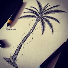 28 best palm tree tattoo images on pinterest palm tree tattoos