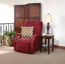 decorating gorgeous beige slipcover ideas for reclining chair
