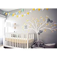stickers arbres chambre bébé amazon fr stickers arbre