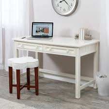 White X Desk by Modern White Secretary Desk Furniture With 2 Storage Drawers With