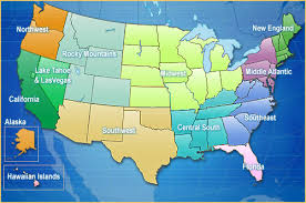us map middle states interval international resort directory united states of america