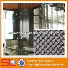 Hanging Curtain Room Divider by Restaurant Hanging Curtain Room Divider Decorative Metal Room