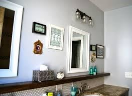Rustic Bathroom Walls - rustic interior design style with grey walls and wall art and art