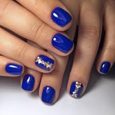 best 25 bright blue nails ideas on pinterest spring nail colors