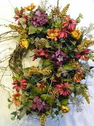 interior beautiful design fall silk arrangements flowers for