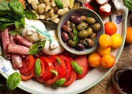 Cold Dinner No Cook Cold Antipasto Platter For Summer Just A Little Bit Of Bacon